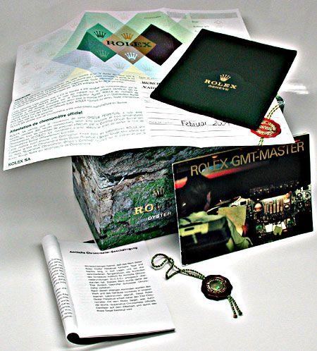 Foto 5, Ungetragene Rolex GMT Master 2 Stahl Oyster Lock Topuhr, U1955