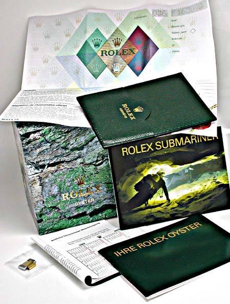 Foto 5, Rolex Submariner mit Datum Stahlgold Blau Topuhr Neuz.!, U1957