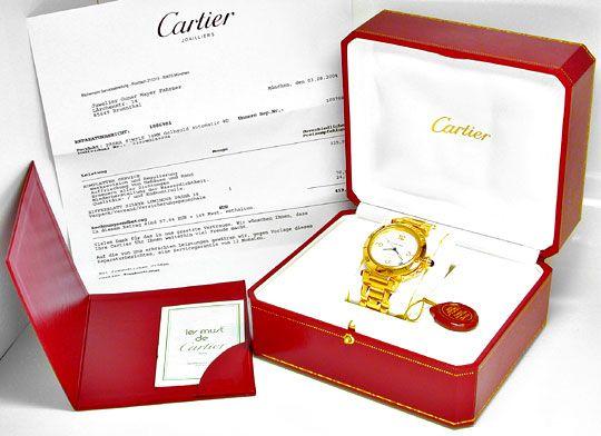 Foto 4, Cartier Pasha Plongeur 38mm Automatik Geprüft Neuzust.!, U1958
