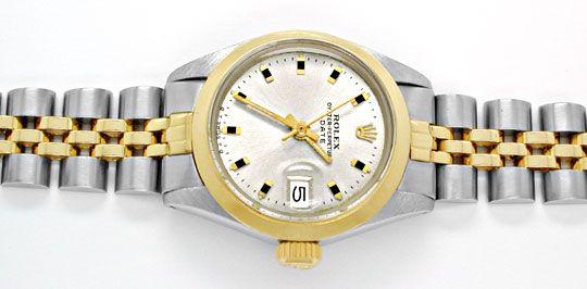 Foto 1, Original Rolex Date Damenuhr, St/G, Automatik Portofrei, U1962