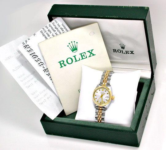 Foto 4, Original Rolex Date Damenuhr, St/G, Automatik Portofrei, U1962