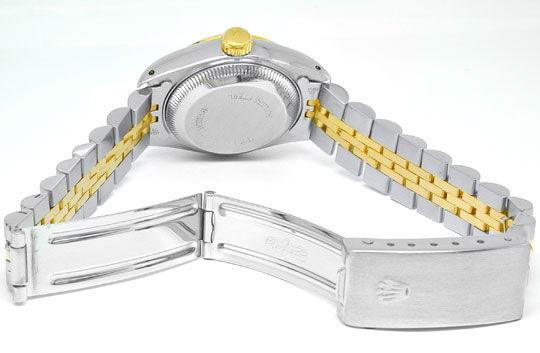 Foto 3, Rolex Datejust Damen Armbanduhr Stahlgold Topuhr Neuw.!, U1963