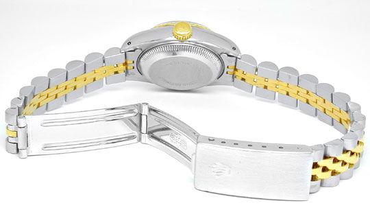 Foto 3, Rolex Datejust Damen Stahlgold Diamanten! Topuhr Neuw.!, U1964