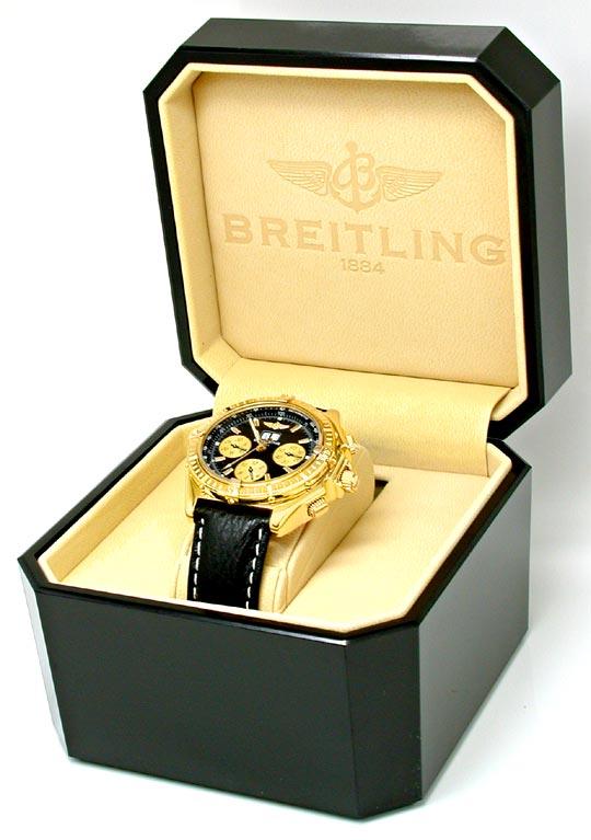 Foto 6, Breitling Crosswind Spezial 18K-GG Chrono Geprüft Neuz., U1972