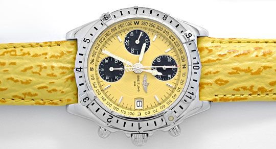 Foto 1, Breitling Chronomat Longitude Automatik Topuhr 1A Neuz., U1987