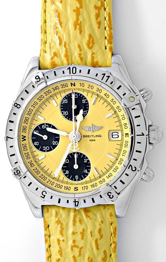 Foto 2, Breitling Chronomat Longitude Automatik Topuhr 1A Neuz., U1987