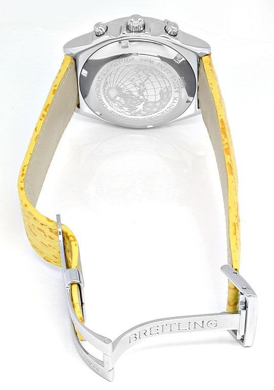 Foto 4, Breitling Chronomat Longitude Automatik Topuhr 1A-Neuz., U1987