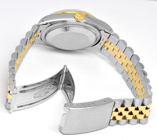 Foto 4, Rolex Datejust Hr STG Diamant-Zifferblatt Topuhr Neuz.!, U1991