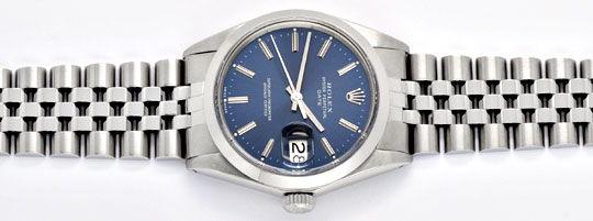 Foto 1, Rolex Date Oyster Perpetual Chronometer Herrenuhr Stahl, U2005