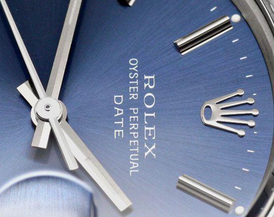 Foto 3, Rolex Date Oyster Perpetual Chronometer Herrenuhr Stahl, U2005