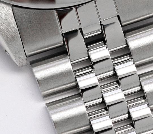 Foto 4, Rolex Date Oyster Perpetual Chronometer Herrenuhr Stahl, U2005