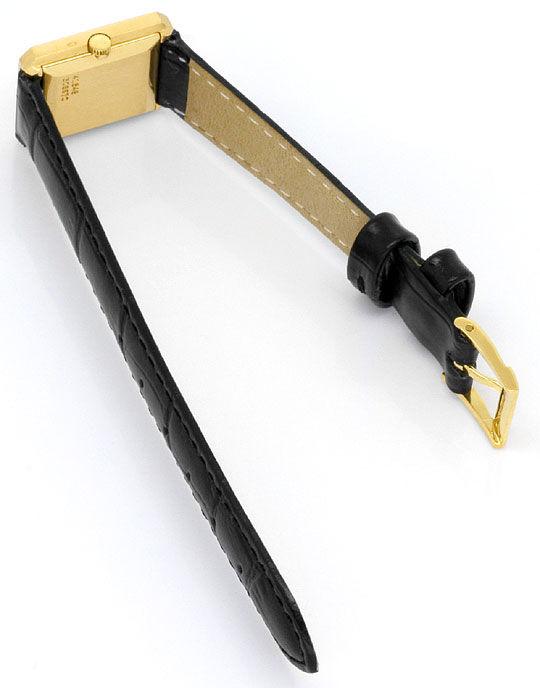 Foto 5, Piaget Polo Längsstreifen Damenarmbanduhr 18K Gelb-Gold, U2043