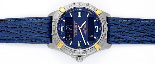 Foto 1 - Breitling Repetition Minutes Aerospace Titan Gold, 1997, U2045