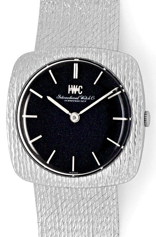 Foto 2 - IWC International Watch Corporation Herrenuhr Weissgold, U2048
