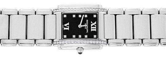 Foto 1, Patek Philippe Twenty 4, Diamanten, Edelstahl Damen Uhr, U2052
