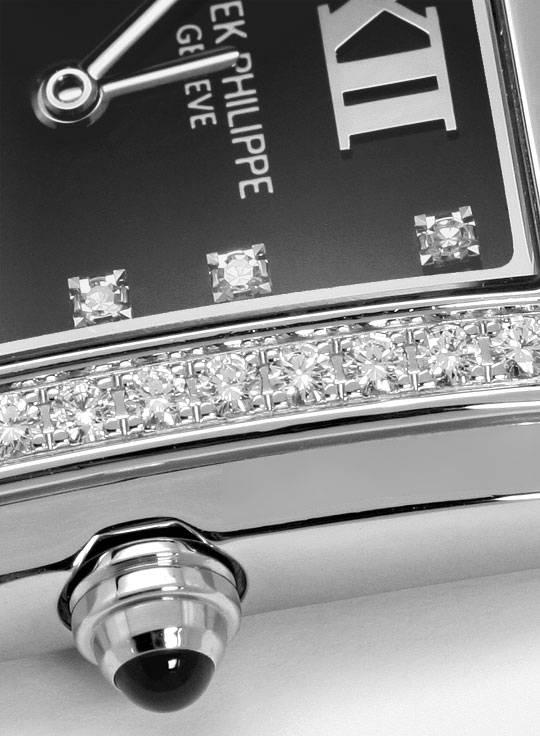 Foto 4, Patek Philippe Twenty 4, Diamanten, Edelstahl Damen-Uhr, U2052