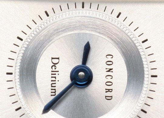 Foto 3, Concord Delirium Diamanten Damen-Uhr Absolut Ungetragen, U2056