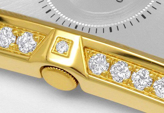 Foto 4, Concord Delirium Diamanten Damen-Uhr Absolut Ungetragen, U2056