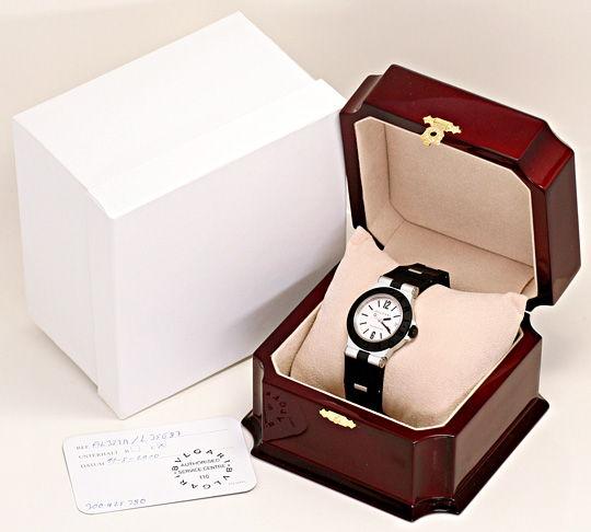 Foto 6, Bulgari Bvlgari Diagono Aluminium Kautschuk, Medium Uhr, U2059