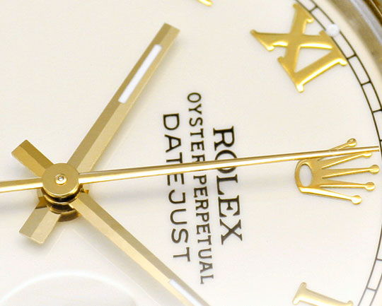 Foto 3, Rolex Datejust Stahl-Gold Herren Jubilee-Band Automatik, U2073