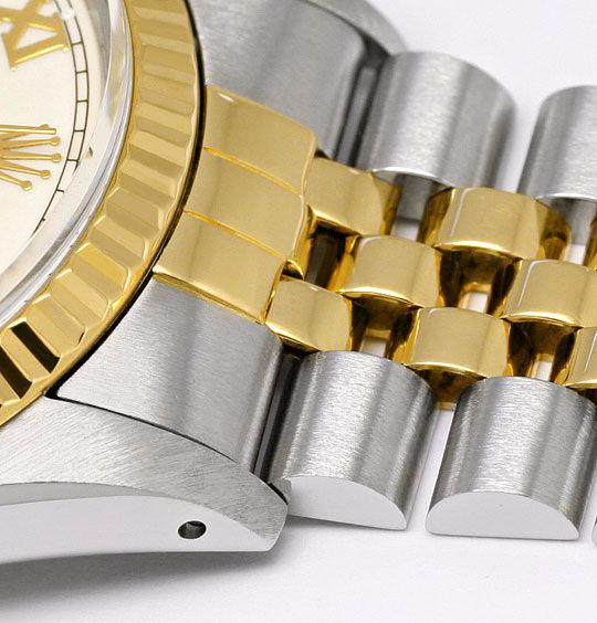 Foto 4, Rolex Datejust Stahl-Gold Herren Jubilee-Band Automatik, U2073
