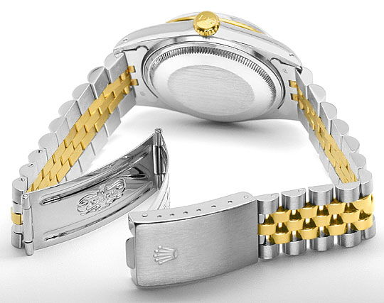 Foto 5, Rolex Datejust Stahl-Gold Herren Jubilee-Band Automatik, U2073