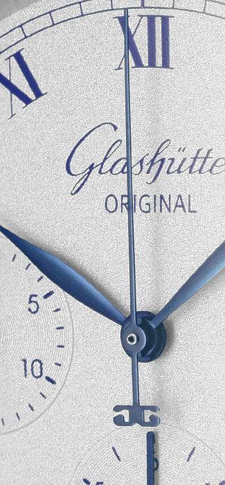 Foto 3, Glashütte Original Chronograph Automatik Klassik, Stahl, U2077