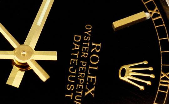 Foto 3, Rolex Medium Datejust Stahl Gold Oyster fast Neuzustand, U2092