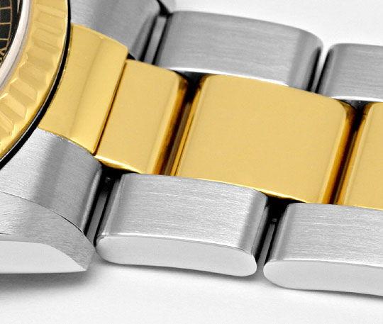 Foto 4, Rolex Medium Datejust Stahl Gold Oyster fast Neuzustand, U2092