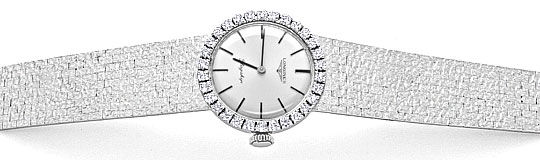 Foto 1, Longines Flagship Damen Uhr Brilliant Lünette Weissgold, U2096