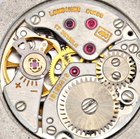 Foto 8, Longines Flagship Damen Uhr Brilliant Lünette Weissgold, U2096