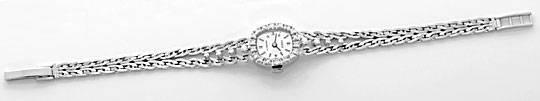 Foto 1, Orex Damen Uhr Diamanten Lünette und Band 18K Weissgold, U2118