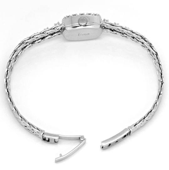 Foto 4, Orex Damen Uhr Diamanten Lünette und Band 18K Weissgold, U2118