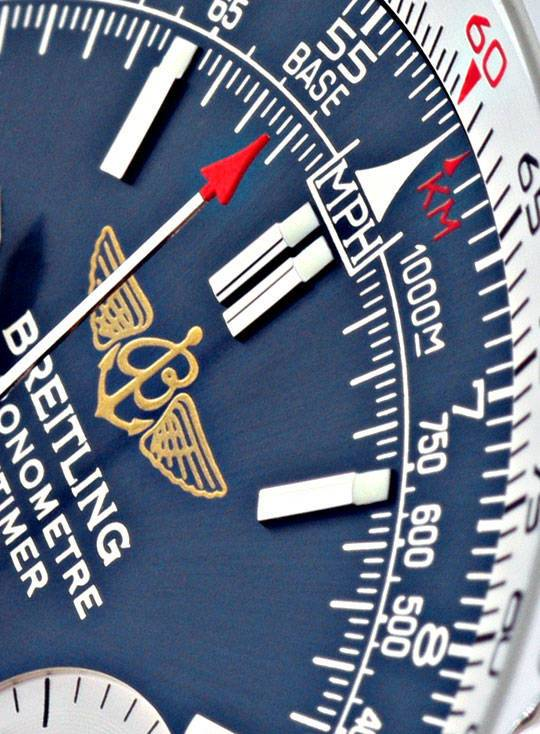 Foto 4, Breitling Navitimer Chronograph Chronometer, Ungetragen, U2125