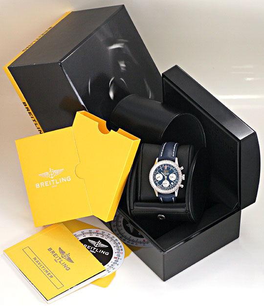 Foto 8, Breitling Navitimer Chronograph Chronometer, Ungetragen, U2125