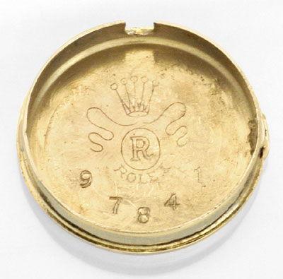 Foto 4, Rolex Damen Armband Uhr 0,16ct Brillanten 14K Gelb Gold, U2126