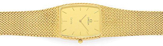 Foto 1, Omega.de Ville Herren-Uhr 18 Karat Gelb-Gold Neuzustand, U2140