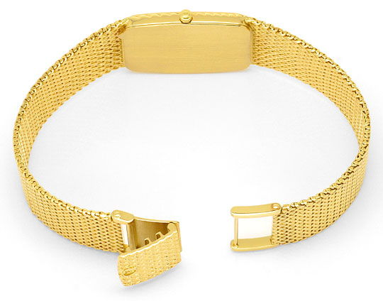Foto 4, Omega de Ville Herren Uhr 18 Karat Gelb Gold Neuzustand, U2140
