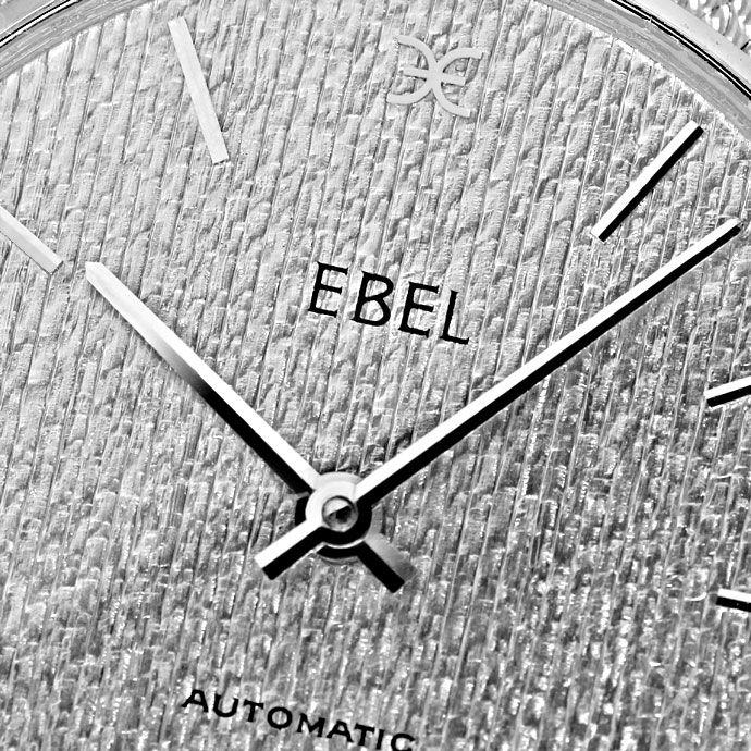 Foto 3 - Ebel Automatik Milanaise Herren Armbanduhr 18K Weißgold, U2154