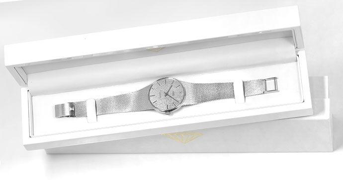 Foto 6 - Ebel Automatik Milanaise Herren Armbanduhr 18K Weißgold, U2154