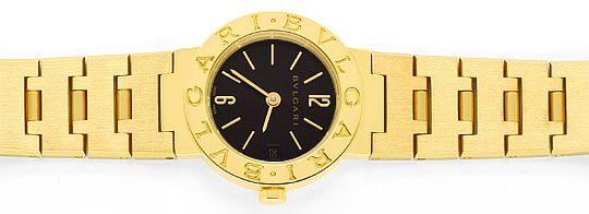 Foto 1, Bulgari Bulgari Gelbgold 18K Damen-Uhr, fast Ungetragen, U2163