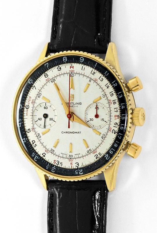 Foto 2 - Sammlerrarität Breitling Chronomat 217012 808 Stahlgold, U2164