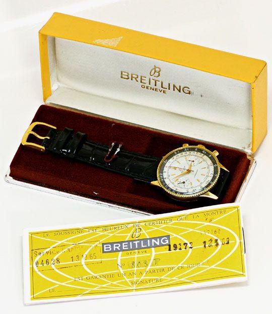 Foto 4, Sammlerrarität Breitling Chronomat 217012 808 Stahlgold, U2164
