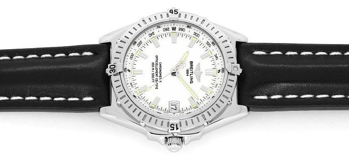Foto 1 - Breitling Wings Chronometer Automatik Neuzustand, Stahl, U2167