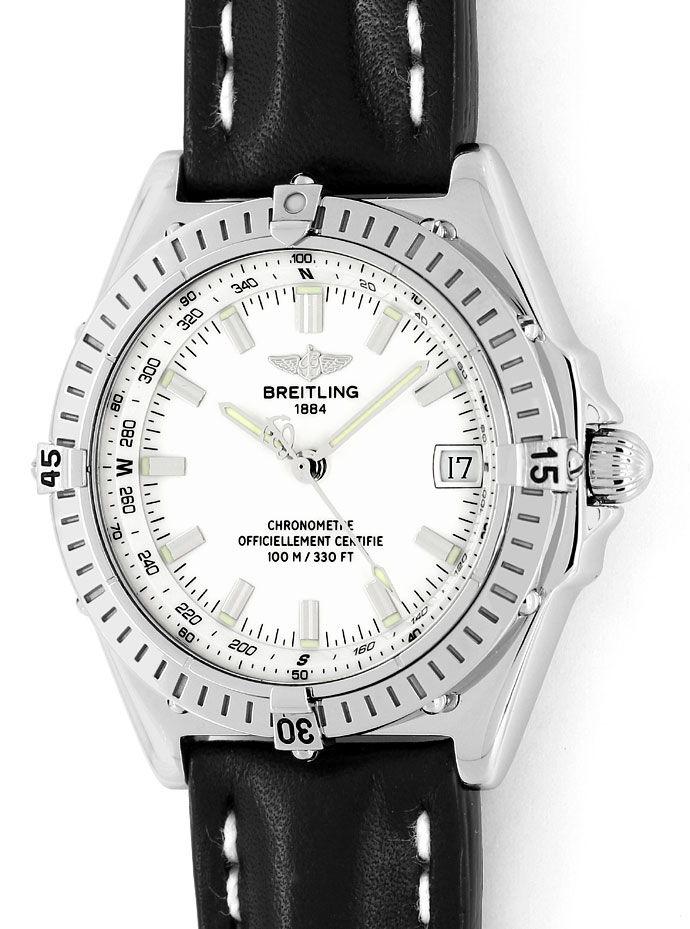 Foto 2 - Breitling Wings Chronometer Automatik Neuzustand, Stahl, U2167