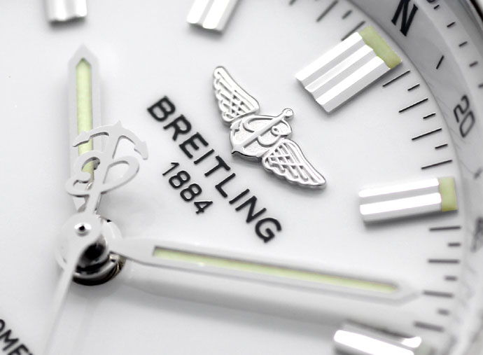 Foto 3 - Breitling Wings Chronometer Automatik Neuzustand, Stahl, U2167