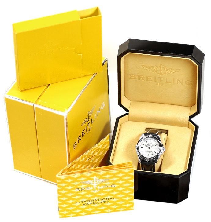 Foto 6 - Breitling Wings Chronometer Automatik Neuzustand, Stahl, U2167