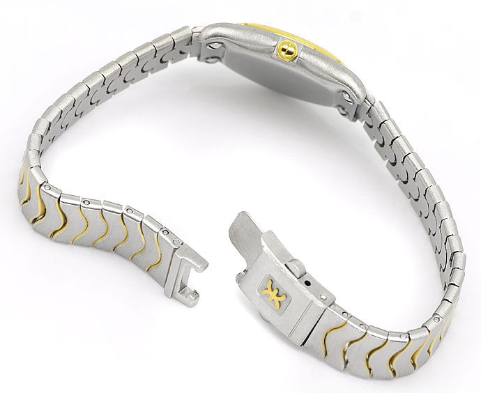 Foto 5 - Ebel Classic Mini Damen Armbanduhr Stahlgold Wellenband, U2172