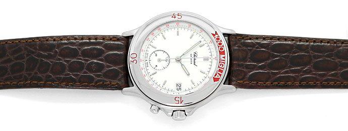 Foto 1 - Chopard Mille Miglia Chronograph Herren Uhr Stahl Kroko, U2176