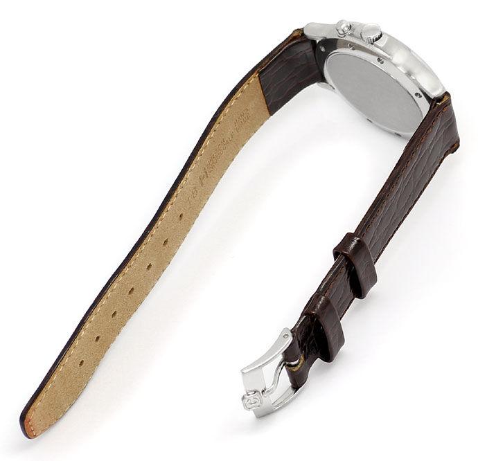 Foto 3 - Chopard Mille Miglia Chronograph Herren Uhr Stahl Kroko, U2176